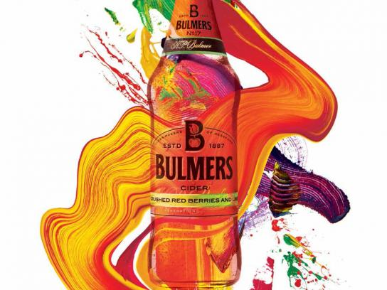 Bulmers Print Ad -  Live colourful, 3