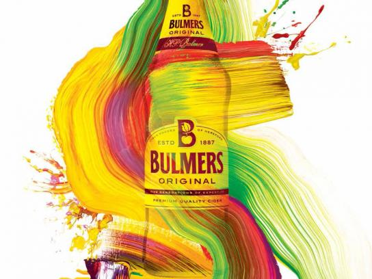 Bulmers Print Ad -  Live colourful, 4