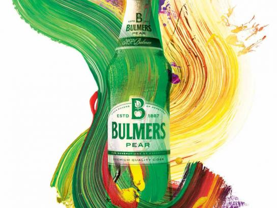 Bulmers Print Ad -  Live colourful, 5