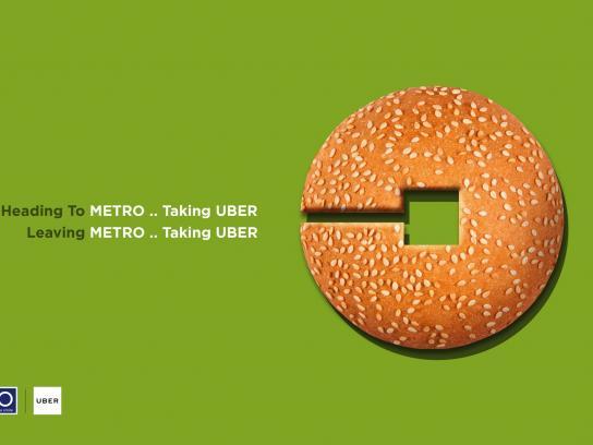 Metro Print Ad - Bun