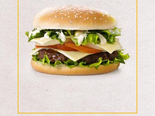 AdPrint Print Ad -  Burger
