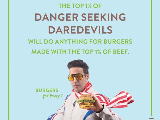 BurgerFi Print Ad - Daredevil