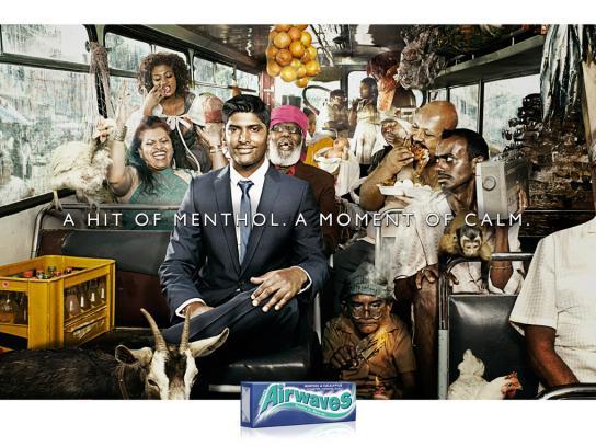 Airwaves Print Ad -  Bus