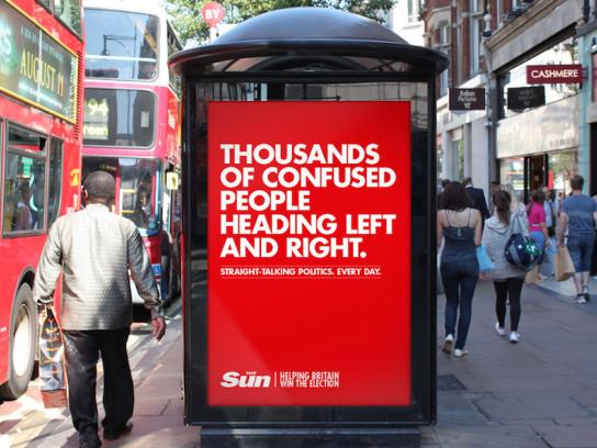 The Sun Outdoor Ad -  Helping Britain win the election, 1