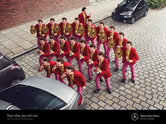 Mercedes Outdoor Ad -  Businessman