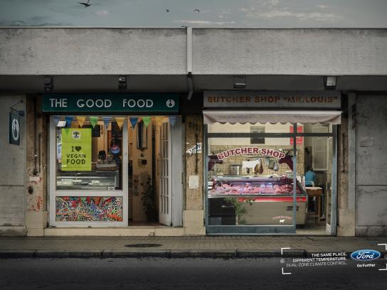 Ford Print Ad - Dual-zone - Butcher Shop