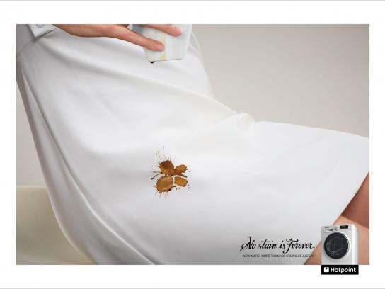 Hotpoint Print Ad -  Tattoos - Butterfly