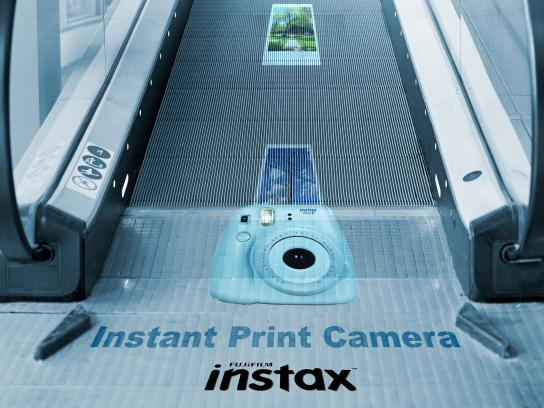 Fujifilm Outdoor Ad - Instant Print Camera