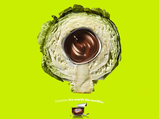 Danone Print Ad -  Cabbage