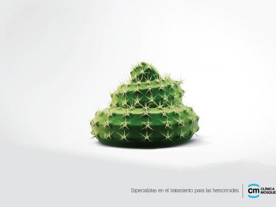 Clinica Mosquera Print Ad -  Cactus