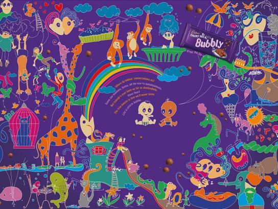 Cadbury Print Ad -  Babies