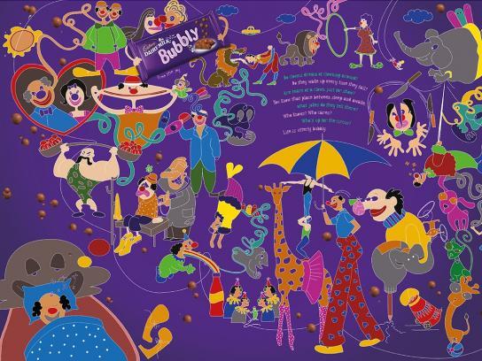 Cadbury Print Ad -  Clowns