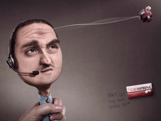 Cafiaspirin Print Ad -  Marketing