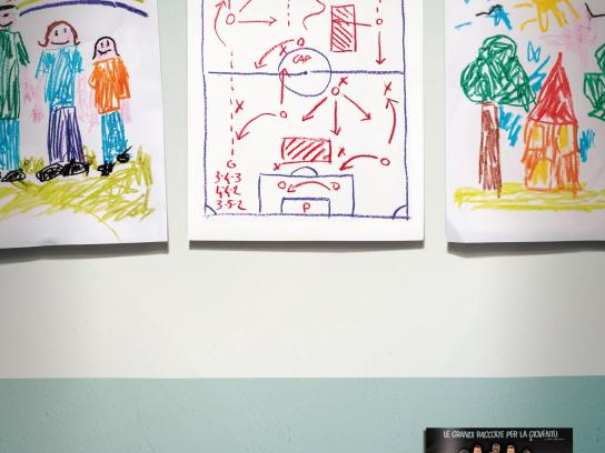 Calciatori Panini Print Ad -  Classroom