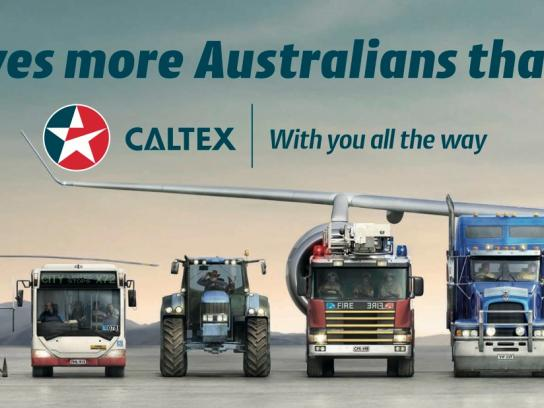 Caltex Outdoor Ad -  With you all the way
