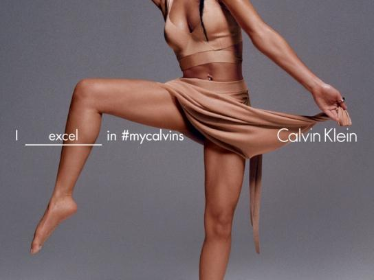 Calvin Klein Print Ad -  FKA twigs