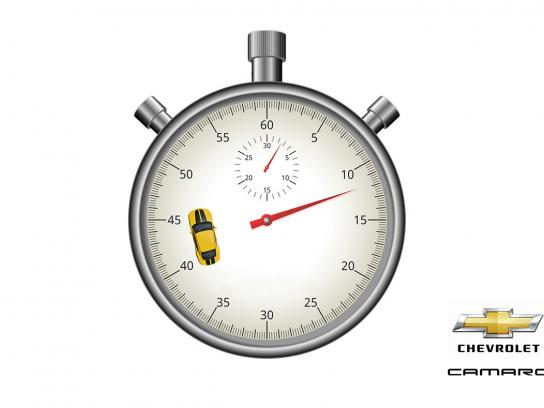 Chevrolet Print Ad - Faster