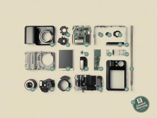 Insinuante Print Ad -  Camera
