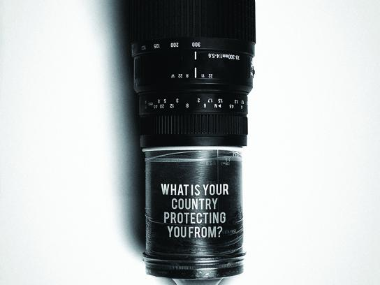 World press freedom day Print Ad - Camera