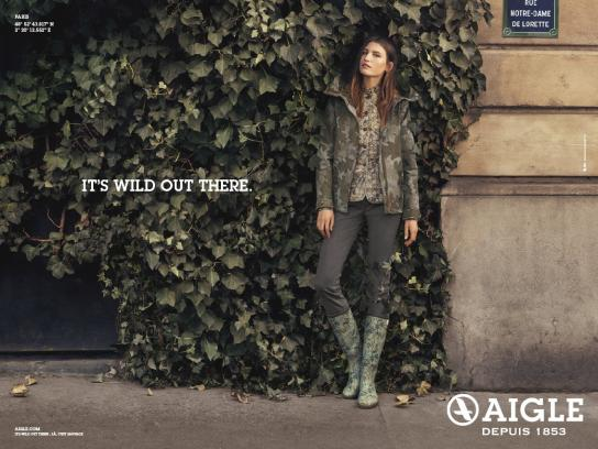 Aigle Print Ad -  Camouflage