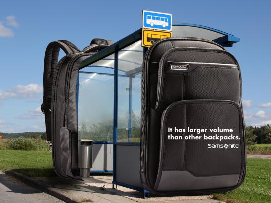 Samsonite Outdoor Ad - Samsonite Outdoor