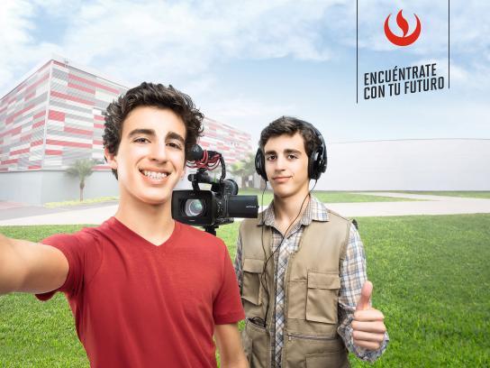 Universidad Peruana de Ciencias Aplicadas Outdoor Ad - Selfie, 2