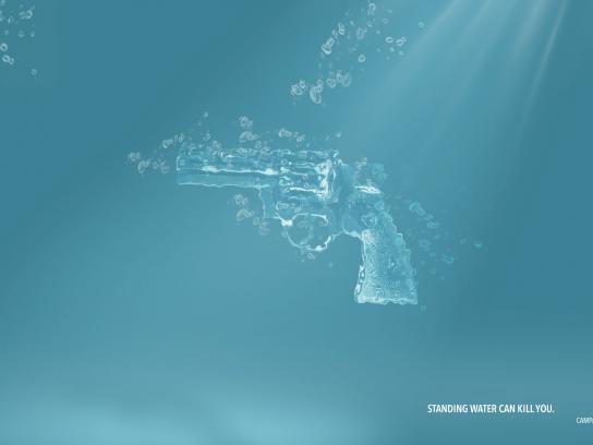 Imunidade Print Ad - Revolver
