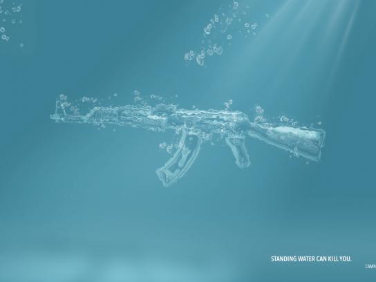 Imunidade Print Ad - AK-47