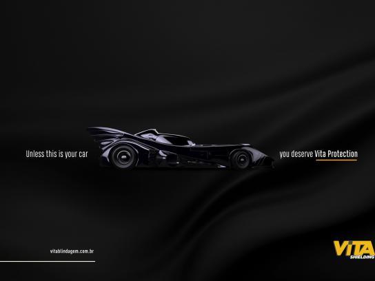 Vita Blindagem Print Ad - Batman