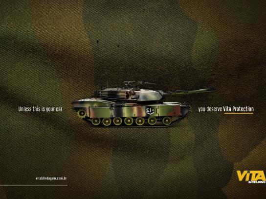 Vita Blindagem Print Ad - Tank