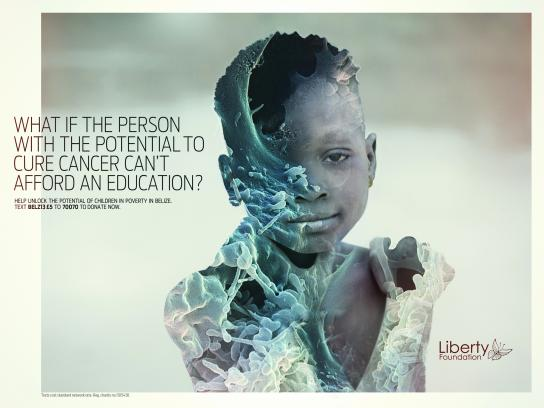 Liberty Foundation Print Ad -  Cancer