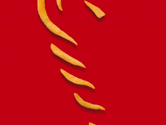 McDonald's Print Ad - Candy Cane