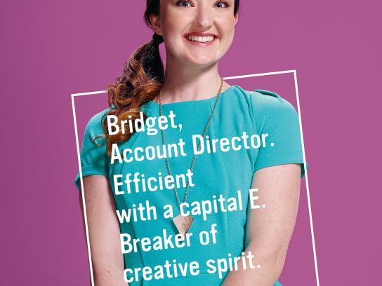 Cannes Lions Print Ad -  Bridget