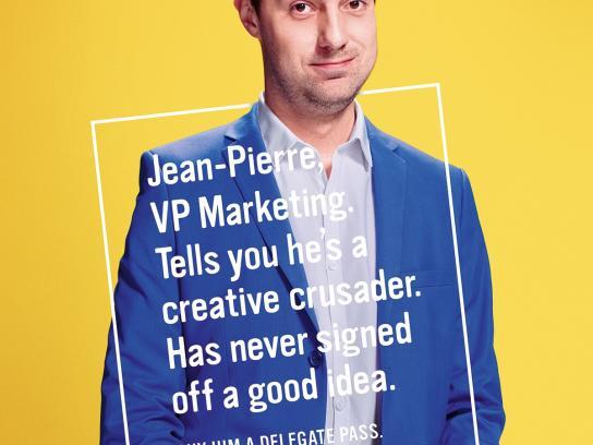 Cannes Lions Print Ad -  Jean-Pierre