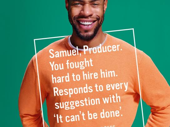 Cannes Lions Print Ad -  Samuel