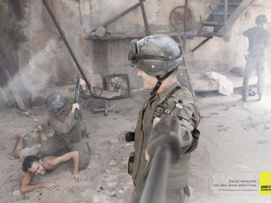 Amnesty International Print Ad -  Soldier