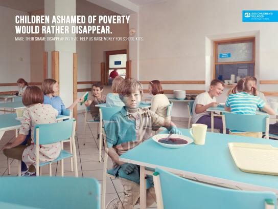 SOS Children's Villages Print Ad -  Canteen