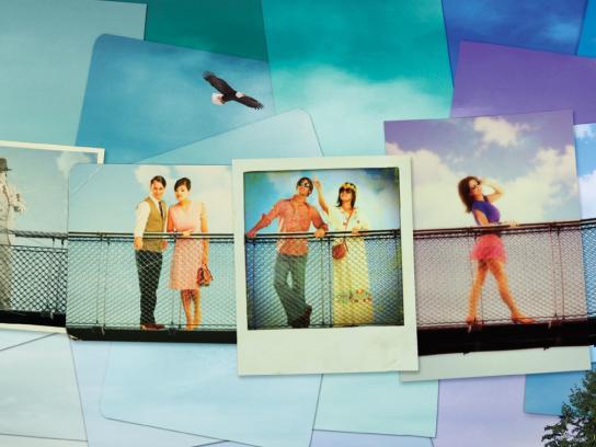 Capilano Print Ad -  Photos Through Time