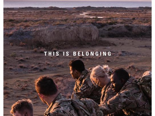 Army Outdoor Ad - This is belonging, 1