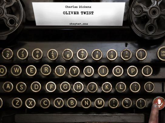 Penguin Print Ad - Typewriter