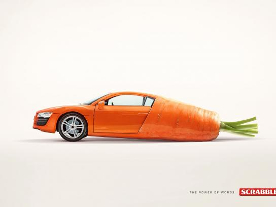Scrabble Print Ad -  Car-rot