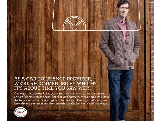 NFU Mutual Print Ad -  Car