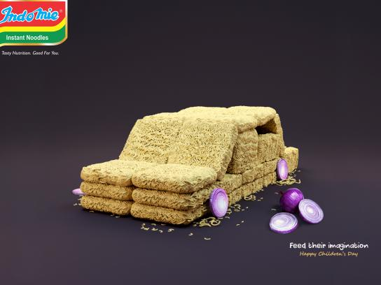 Indomie Noodles Print Ad - Feed Their Imagination, 2