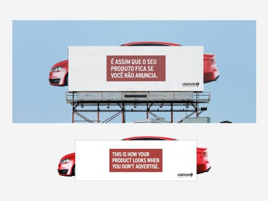 Uranus Outdoor Outdoor Ad -  Car