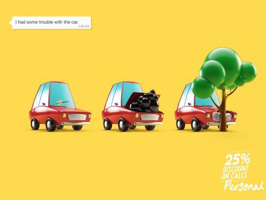 Personal Print Ad - Car