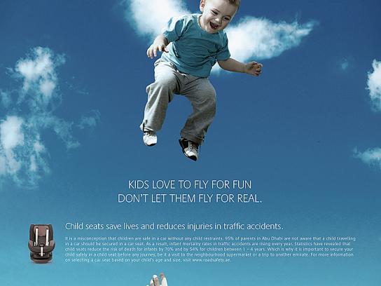 Health Authority Abu Dhabi Print Ad -  Fly, 1