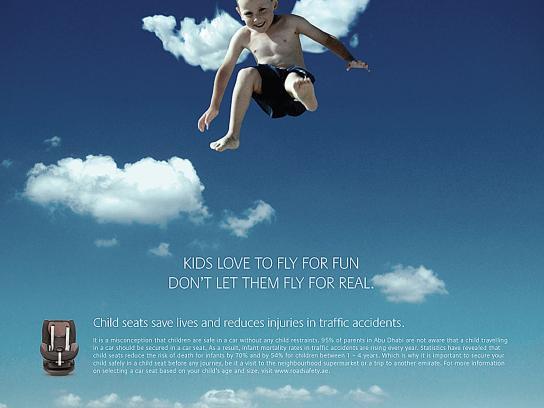 Health Authority Abu Dhabi Print Ad -  Fly, 2