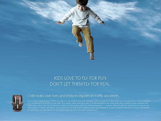 Health Authority Abu Dhabi Print Ad -  Fly, 3