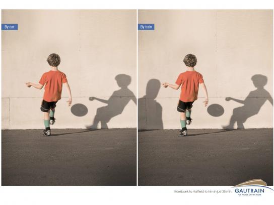 Gautrain Print Ad -  Boy