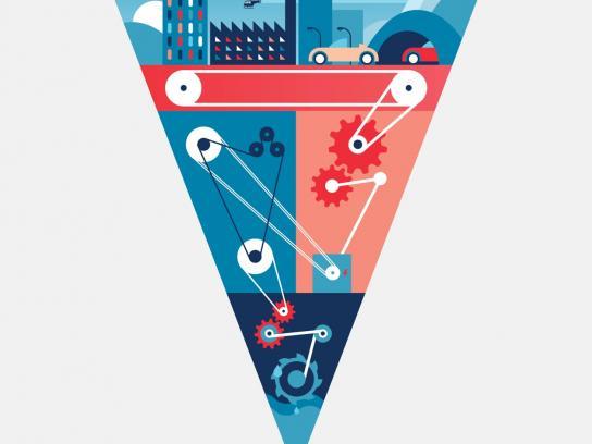 Wall Street Institute School of English Print Ad -  Learning Method, Career